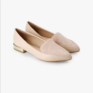ALDO Nude Loafers